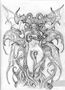 Michele Benevento: studio per il demone