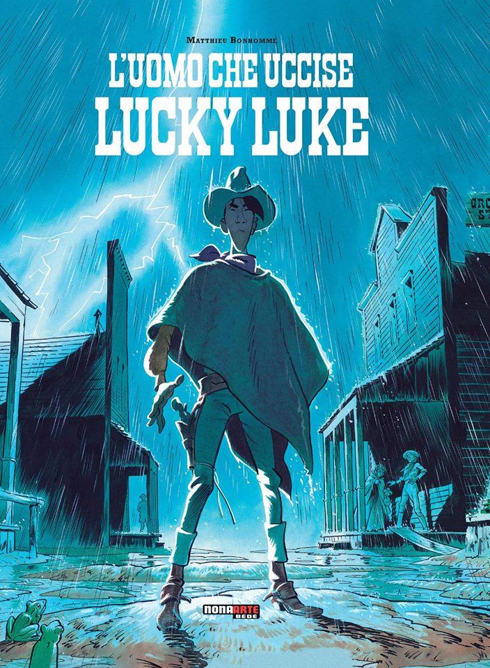 L'uomo che uccise Lucky Luke, copertina di Matthieu Bonhomme
