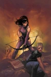 All-New Hawkeye #5, copertina variant di Phil Noto