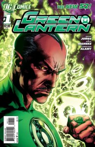 Green Lantern #1, copertina di Ivan Reis