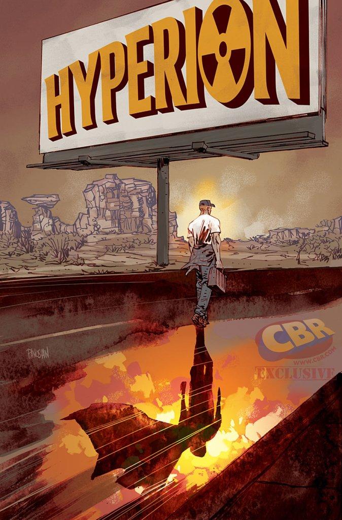 Hyperion #2, copertina variant di Dan Panosian