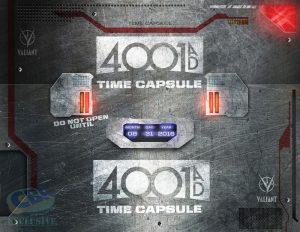 Valiant, 4001 AD, time capsule, immagine promo