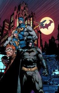 Batman #1, copertina di David Finch