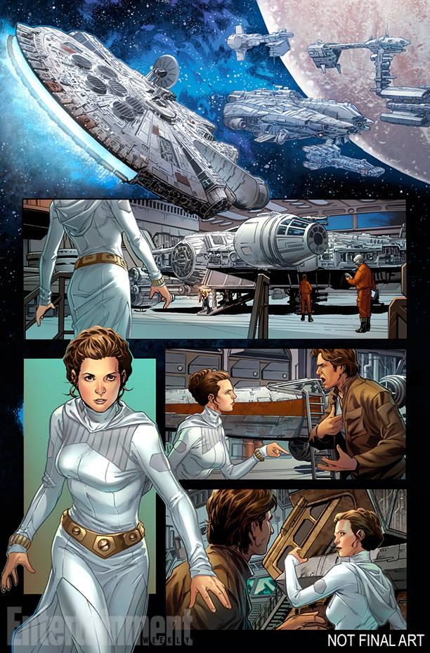 Han Solo #1, anteprima 2