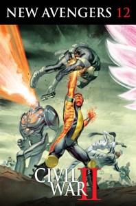 New Avengers #12, copertina di Juan Totino Tedesco