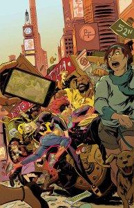 Power Man and Iron Fist #4, copertina di Sanford Greene