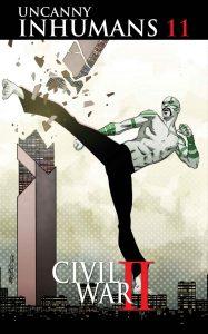 Uncanny Inhumans #11, copertina di Carlos Pacheco