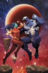 Venom: Space Knight #7, copertina di Ariel Olivetti