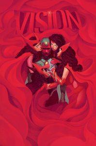 Vision #7, copertina di Mike Del Mundo