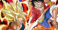 I personaggi di Dragon Ball Z e One Piece si affrontano su Nintendo 3DS