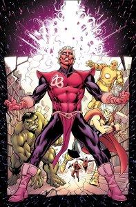Infinity Entity #1, copertina di Alan Davis