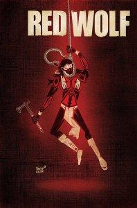 Red Wolf #4, copertina di Jeffrey Veregge