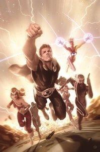 Squadron Supreme #5, copertina di Alex Garner