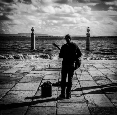 Playing to the Sea - Tony Curd 2016