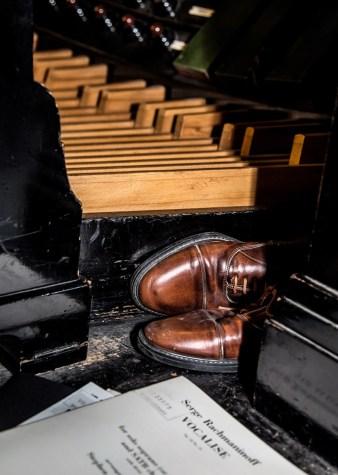 The organists shoes - Bob Braine - 20 Jun 2017