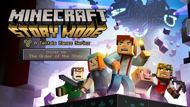 Minecraft: Story Mode banner scheda