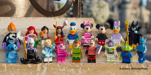 LEGO Minifigures Disney banner