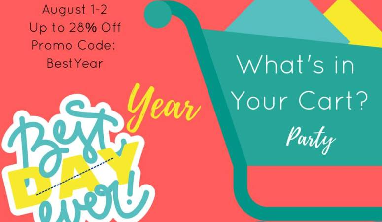 What's in Your Cart?  Back to School Linky!
