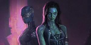 Nebula Gamora Guardiani Galassia