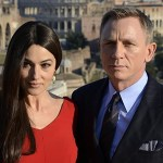 Daniel Craig e Monica Bellucci fotografati sul set romano di Spectre!