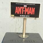 I cartelloni pubblicitari di Ant-Man a misura di formica invadono l'Australia!