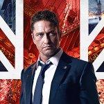 Gerard Butler e la bandiera inglese nel nuovo poster di Attacco al Potere 2 – London Has Fallen