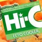Ghostbusters: la bevanda Ecto Cooler tornerà sul mercato insieme al reboot?