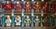 Iron Man: la Sala delle Armature di Tony Stark rifatta in versione LEGO