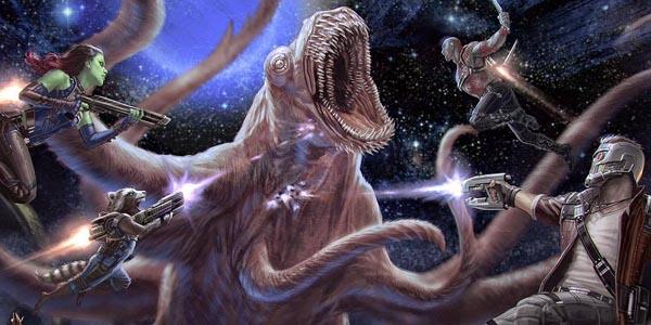 Guardiani della Galassia Vol. 2 - Empire mostra un fantastico concept art