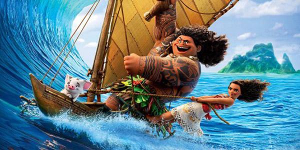 Oceania: Vaiana e Maui nel nuovo trailer e poster Disney