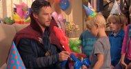 Doctor Strange si mette a disposizione anche per feste di compleanno in uno sketch di Jimmy Kimmel