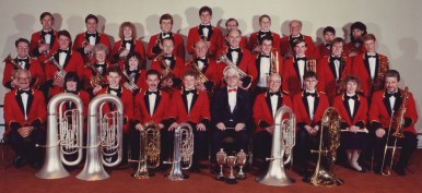 GEC Avionics Brass Band in 1989
