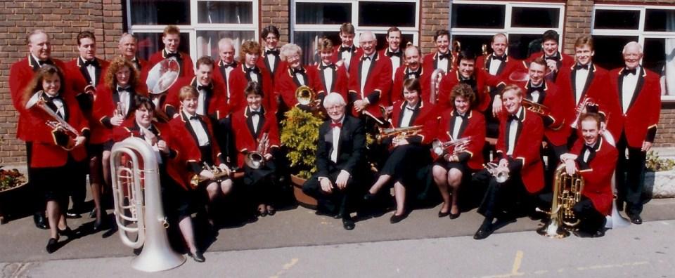 GEC Avionics Brass Band in 1994