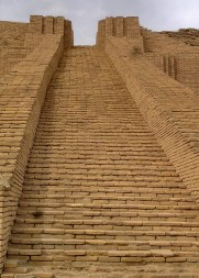 Main staircase of the Ziggurat
