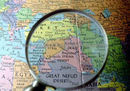 Iraq Magnifying Glass - Baghdad