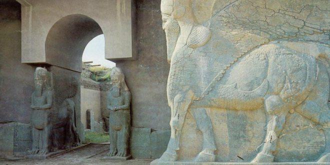 Palace of Ashurnasirpal in Nimrud, Iraq