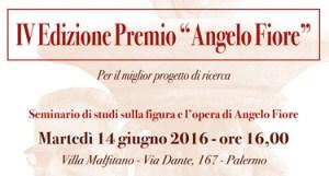 Seminario di studi sulla figura e l'opera di Angelo Fiore