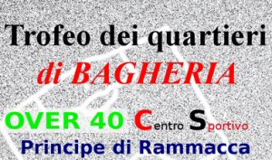 """Trofeo dei Quartieri di Bagheria. Si organizza un torneo di calcetto dedicato alla categoria """"Over 40"""""""