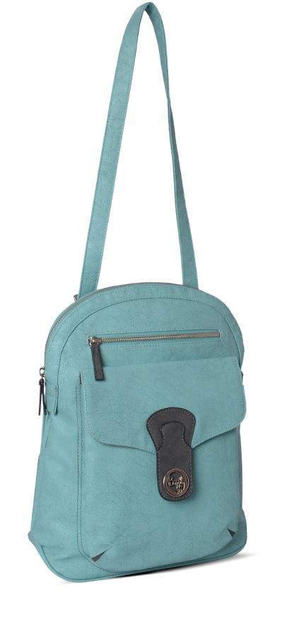 Baggit Rock Chic Blue Backpack