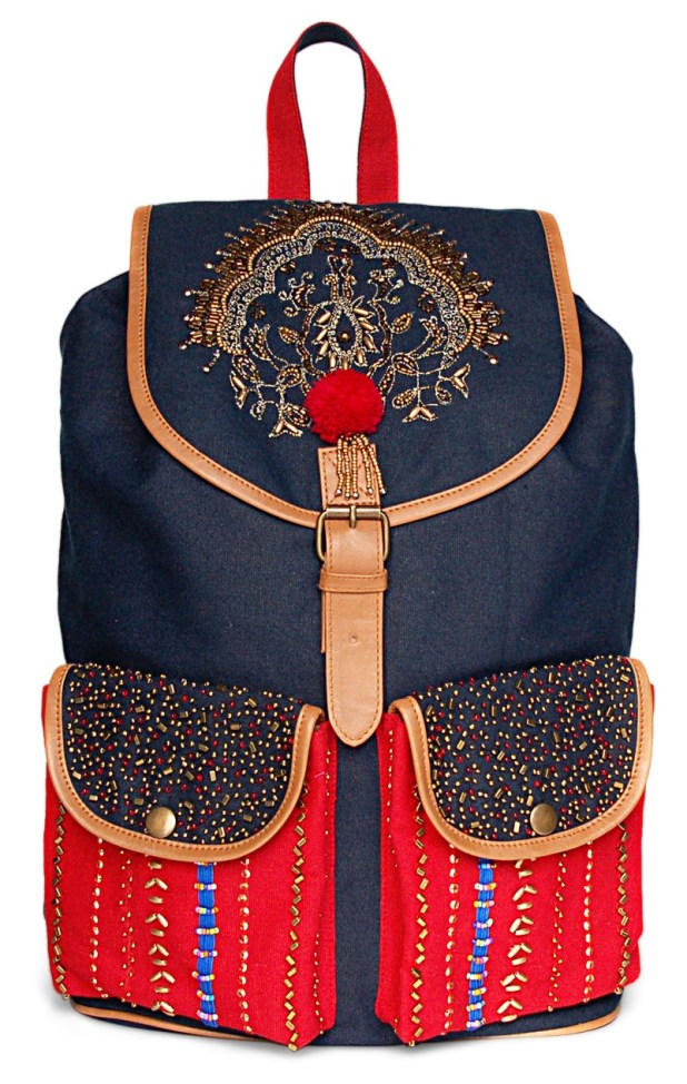 Limeroad Blue-Red Backpack