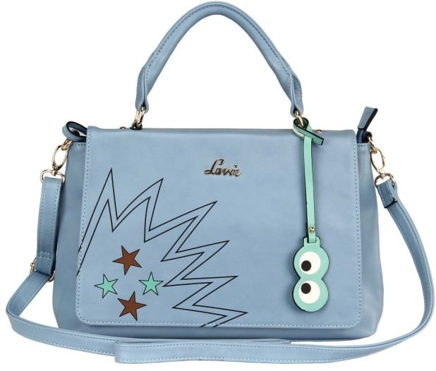 BagsLounge LAVIE POPPINS 3C LG HH TOTE PALE BLUE