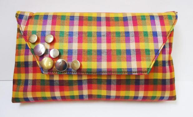 Indiebazaar MultiColoured Clutch
