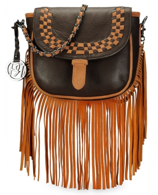 Phive Rivers Fringe Crossbody
