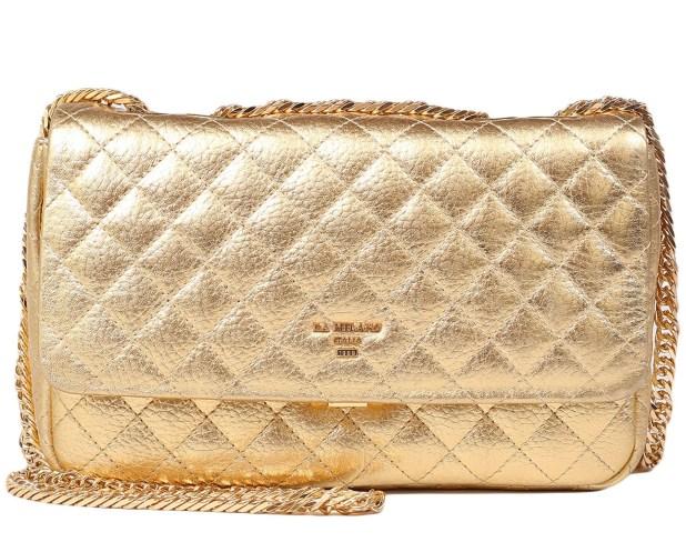 Da Milano Gold Wax Bag