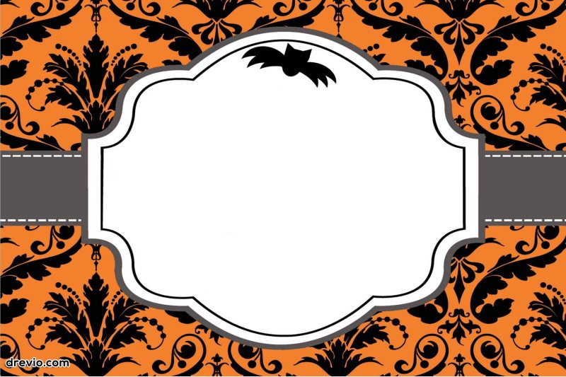 Large Of Halloween Birthday Invitations