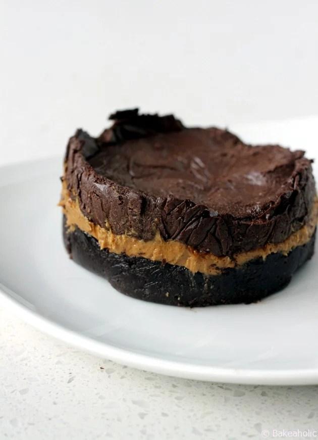 vegan chocolate ganache pb torte b a k e a h o l i cb. Black Bedroom Furniture Sets. Home Design Ideas
