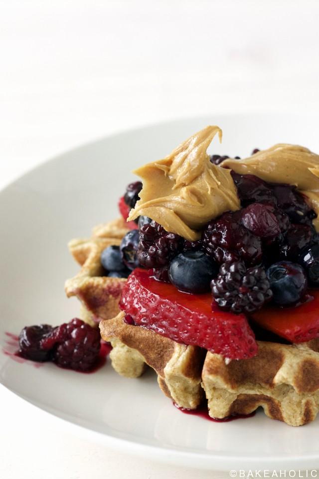 blender waffles bakeaholic