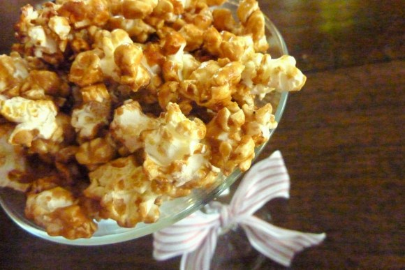 Celebrate National Popcorn Day with gluten-free, vegan Caramel Corn! This popcorn is so good, you won't be able to stop eating it.