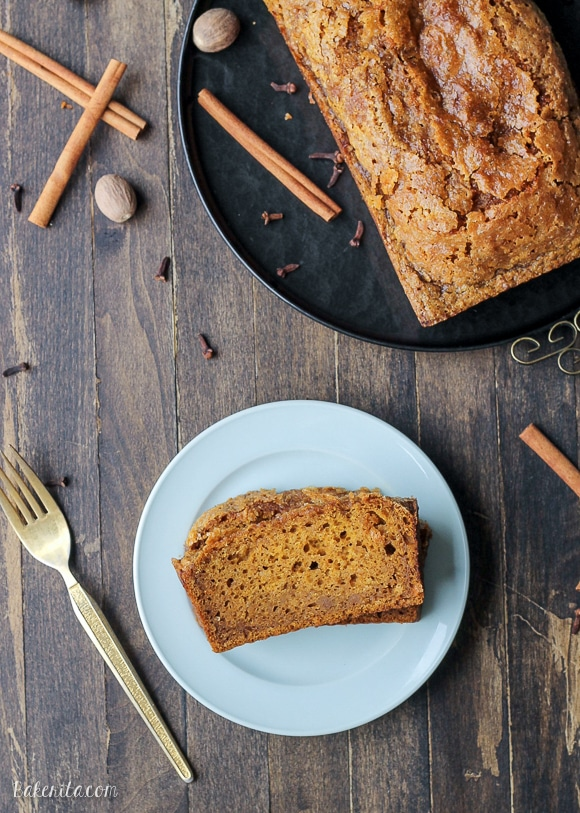 This Pumpkin Bread is a classic recipe that you will go back to again and again. This one is sure to be a fall favorite!