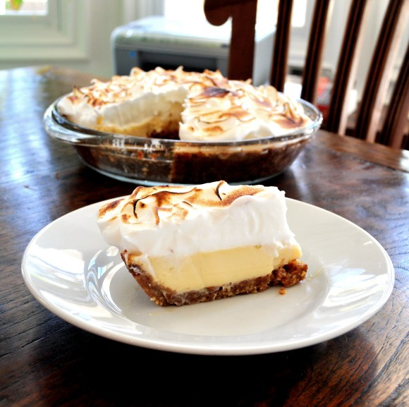 This Key Lime Meringue Pie is the combination of two classic pies that come together wonderfully in this deliciously sweet and tart combination!